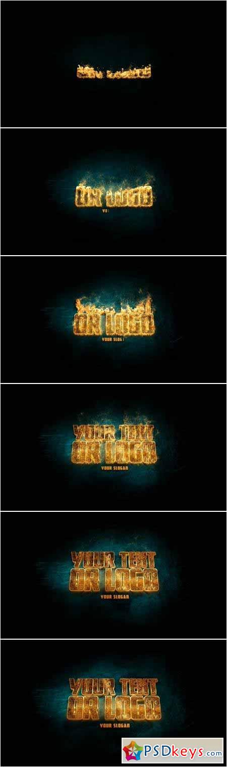 Magic Logo Animation 58599561 - After Effects Projects