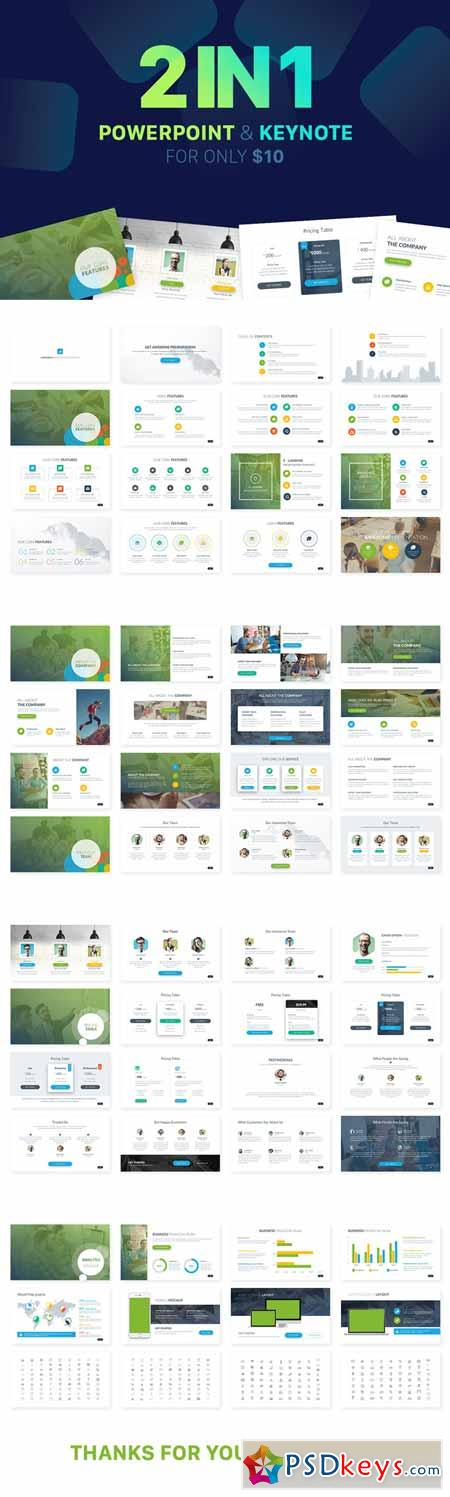 free corporate presentation templates