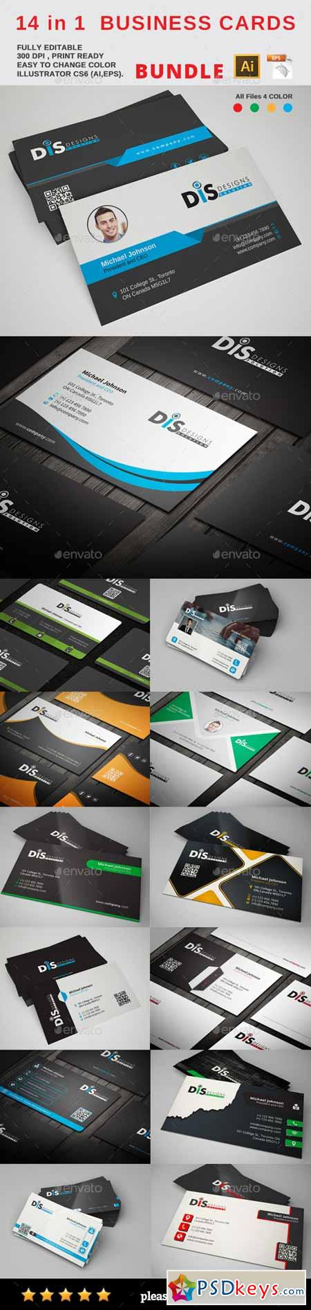 Postcards & Business Cards - Free Download Photoshop Vector Stock ...