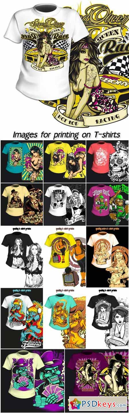 Download Creative Images for T-shirts