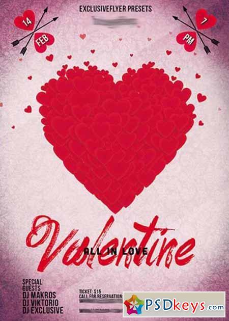 Love Flyer Carnavaljmsmusicco - Valentine flyer template free