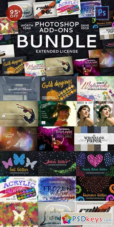 Photoshop Add-Ons Bundle 502575