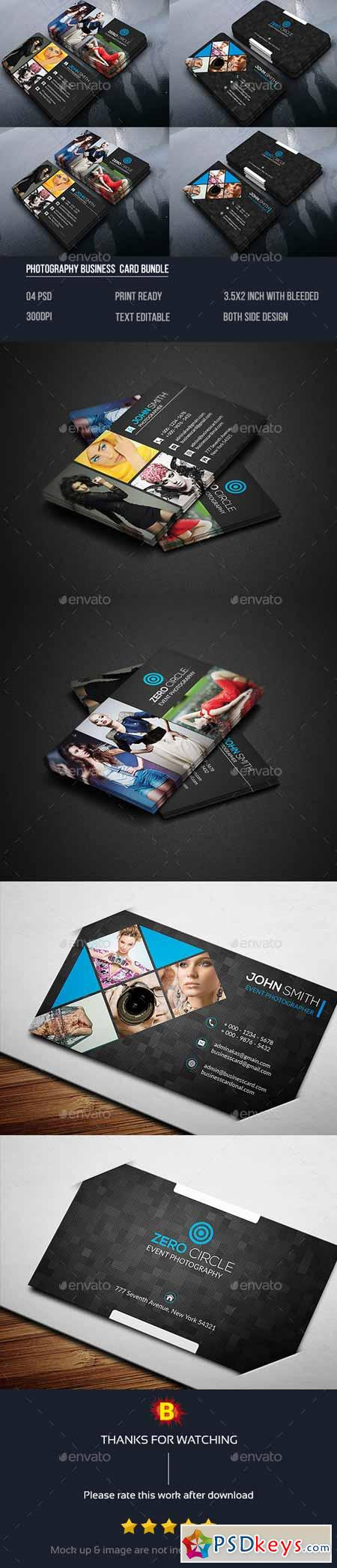 Photography Business Card Bundle 14493705 » Free Download ...