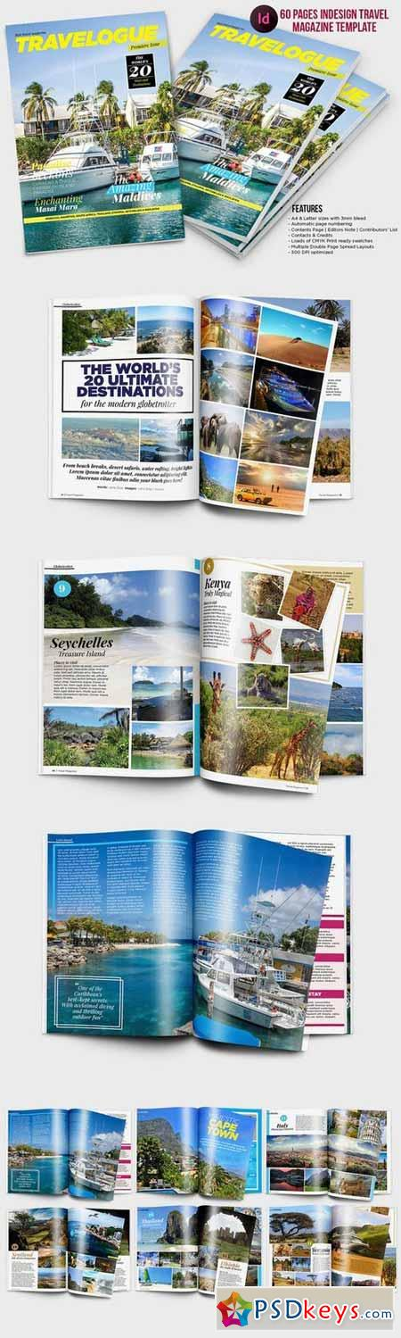 indesign travel magazine template 497479 free download photoshop vector stock image via. Black Bedroom Furniture Sets. Home Design Ideas