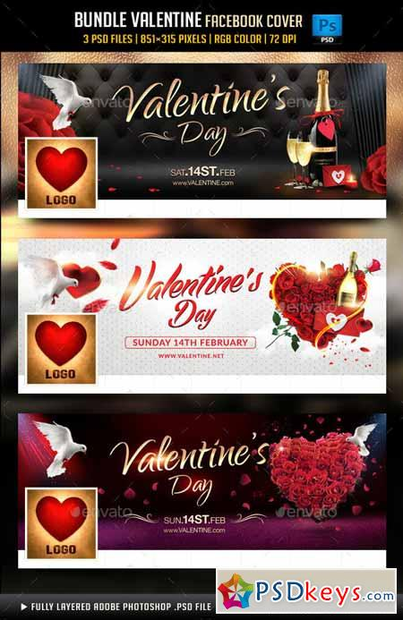 Bundle Valentines Day Facebook Cover 14467874