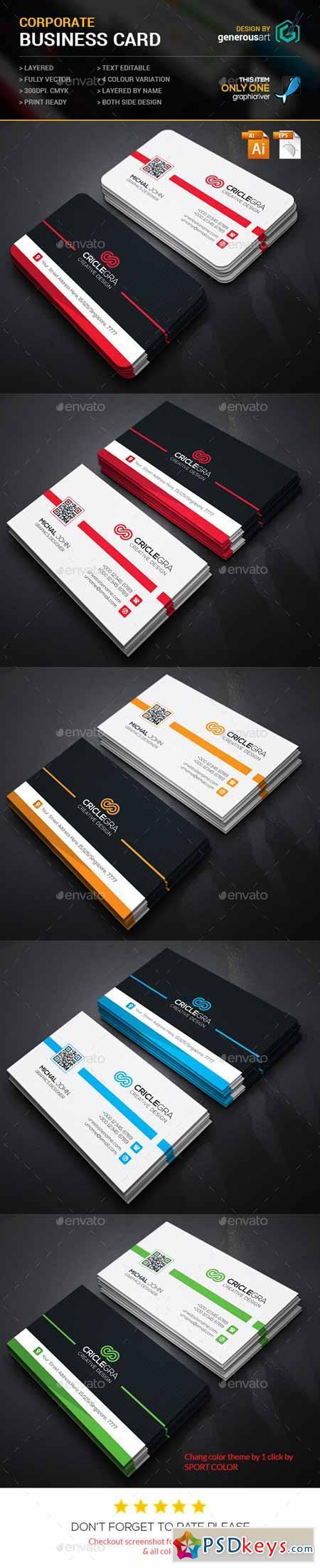 Criclegra Corporate Business Card 11865180