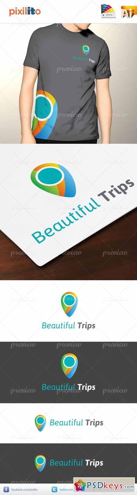 Beautiful Trips Logo 2592