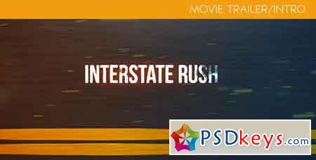 Interstate Rush - Movie Trailer Intro - After Effects Projects