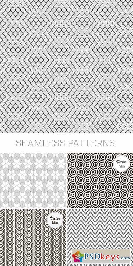 Amazing SS - Seamless Patterns, 25xEPS » Free Download Photoshop ...
