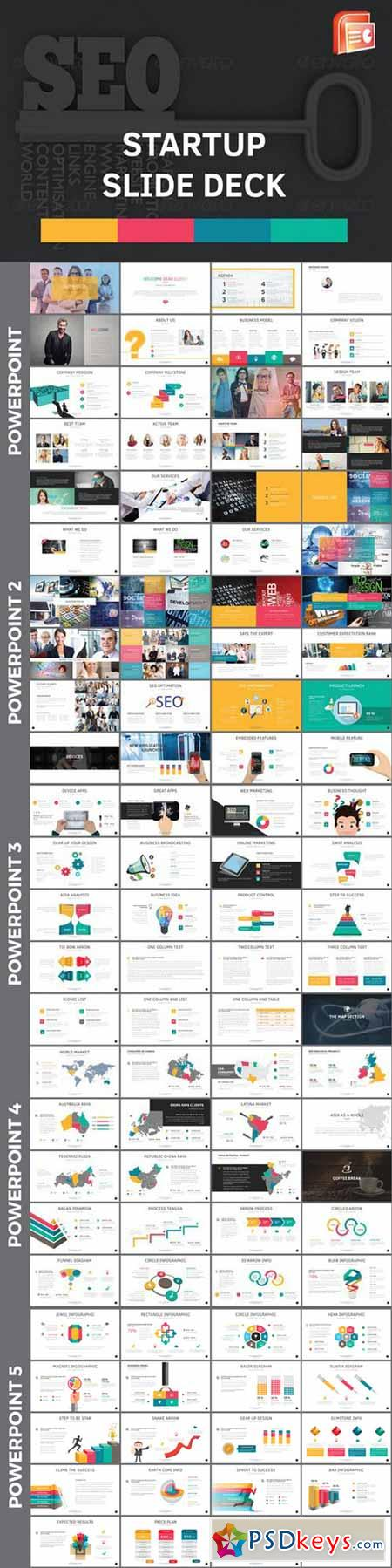 Startup slide deck powerpoint templates 524100 free for Powerpoint templates torrents