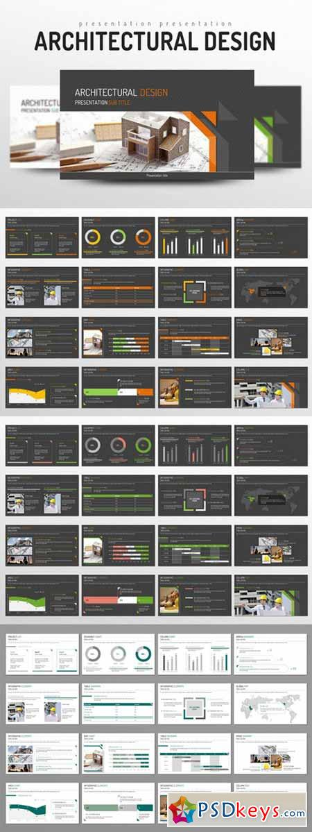 Architectural Design PowerPoint Templates 332873