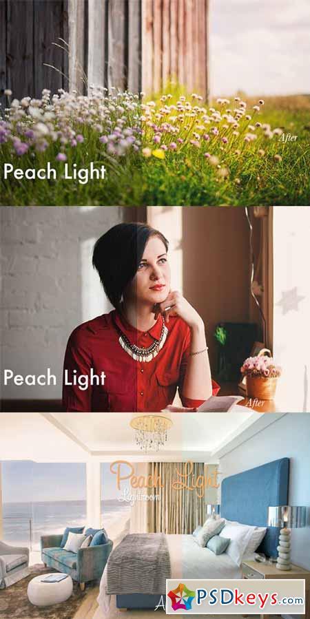 Peach Light - Lightroom Preset 4014