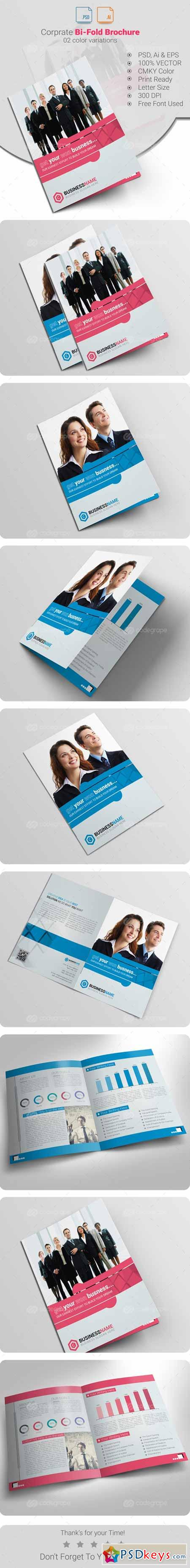 2 fold brochure template photoshop - bi fold brochure 6212 free download photoshop vector