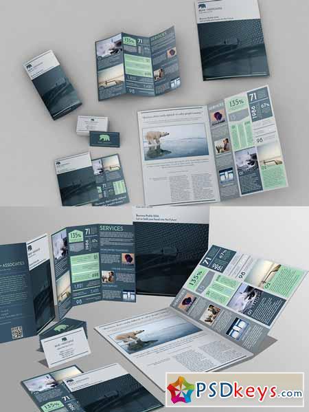 Set of Brochures Stationery 04 530458