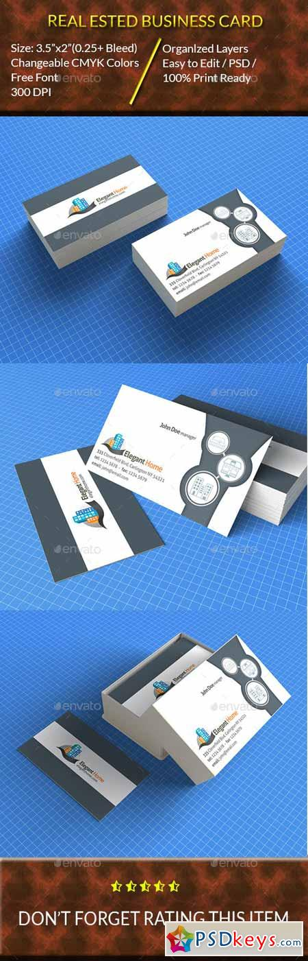 Real Estate Business Card 12315468
