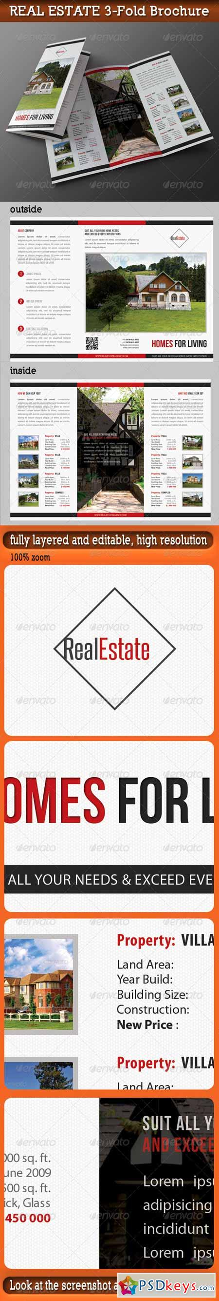 Real Estate 3-Fold Brochure 01 7354154