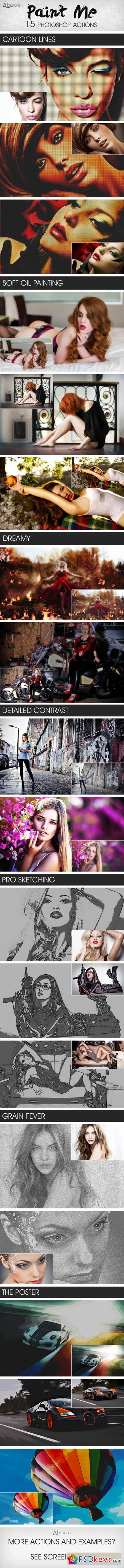 Paint Me Photoshop Actions 11647619
