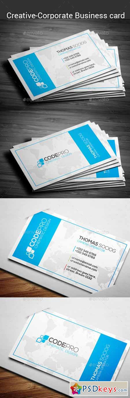 Corporate Business Card 12395757