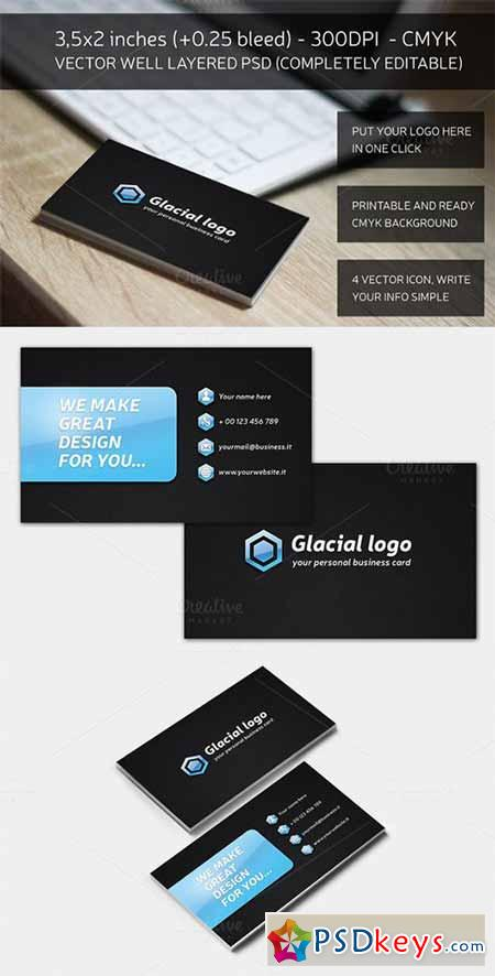 Glacial Business Card 161120