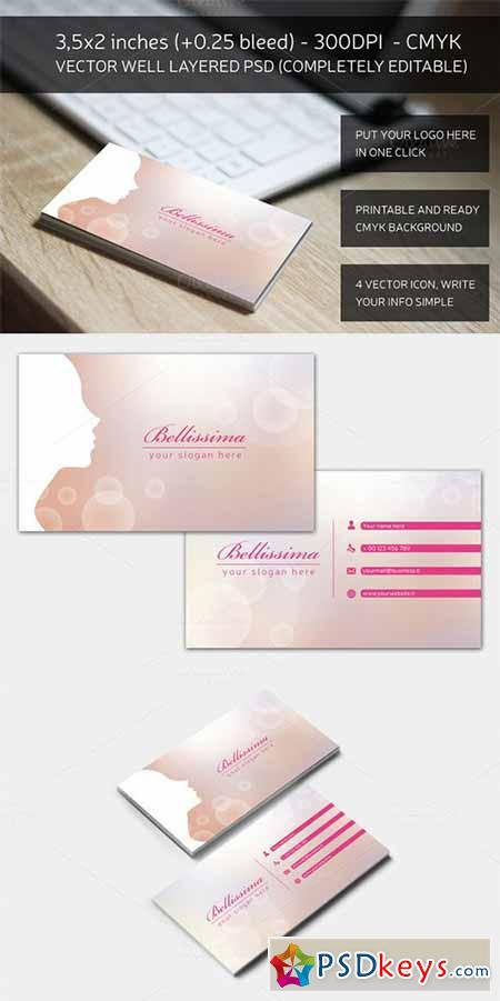 Blurred Fashion business card 161397