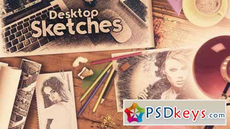 Desktop Sketches - After Effects Projects