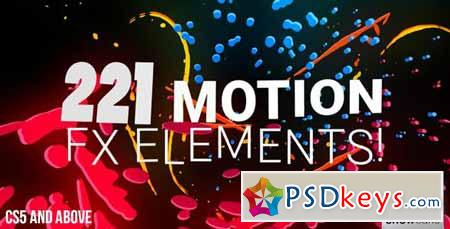 221 Motion FX Elements Pack - After Effects Projects