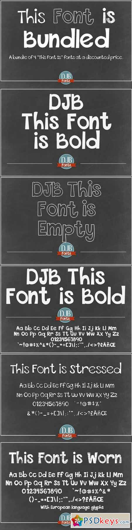 DJB This Font is Bundled 554057