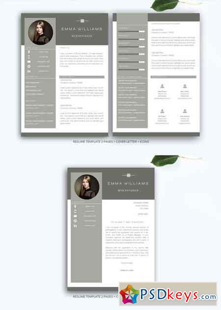 ms word cv template