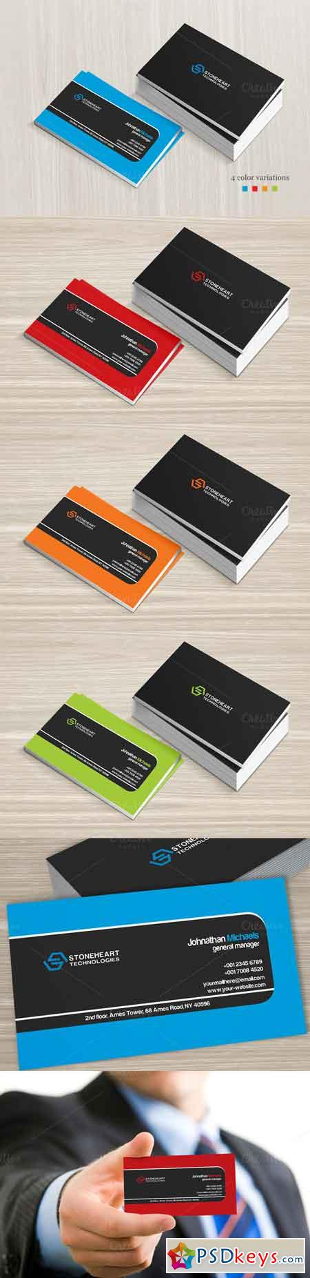 Corporate Business Card 548159