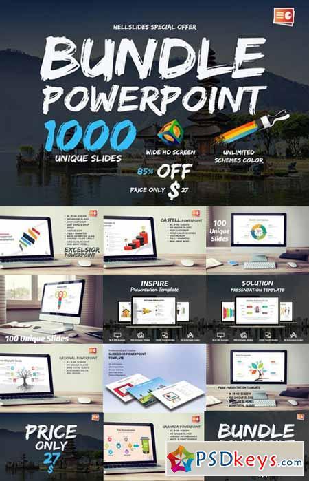 thousand unique slides 533014 » free download photoshop vector, Presentation templates