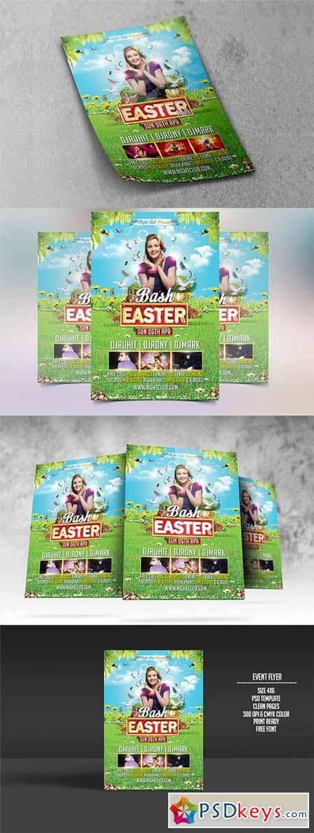 Easter Bash Party Flyer 209414