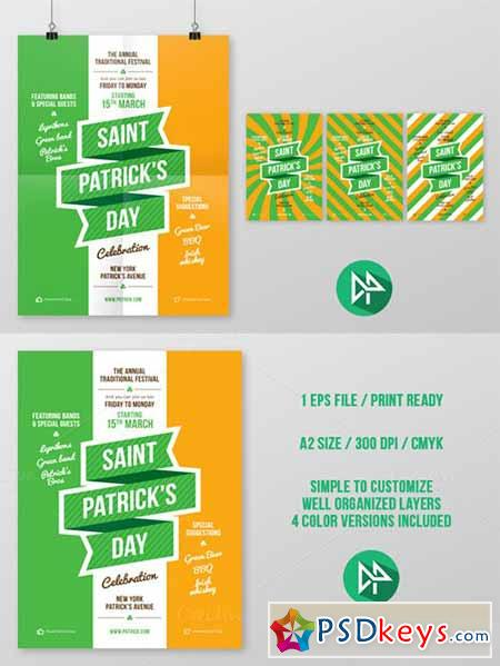 St. Patrick's Party Poster 42540