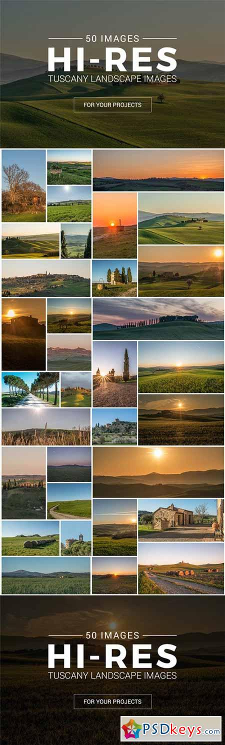 Tuscany Landscape Pack - 50 Photos 244637
