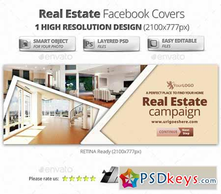 Real Estate Facebook Covers 14992242 » Free Download