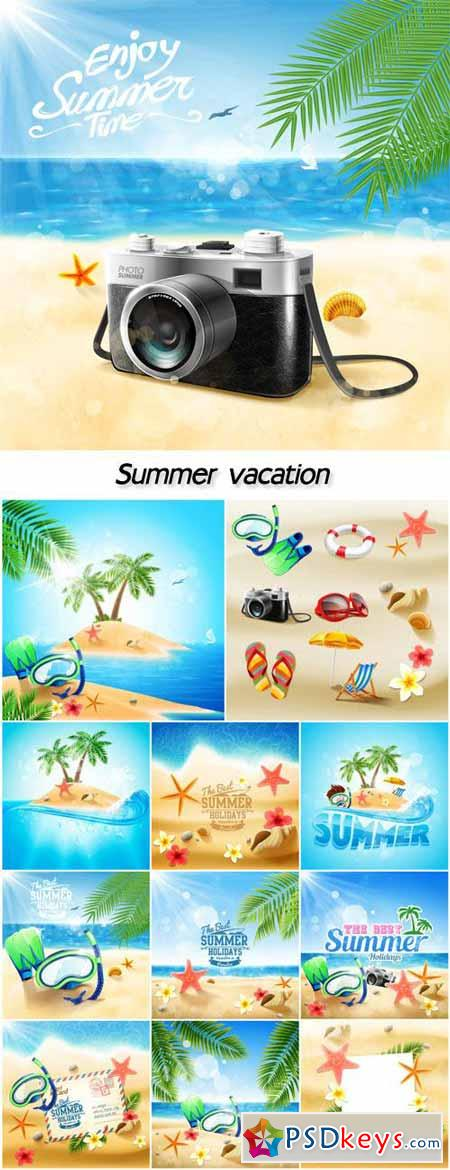 Summer vacation, sea, travel