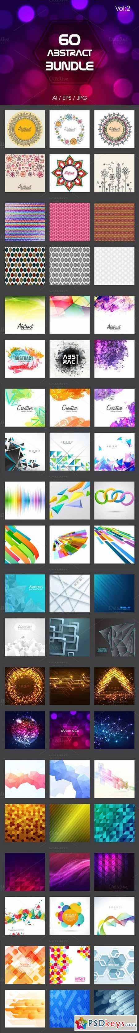 Creative Abstract Bundle - Vol 2 470488