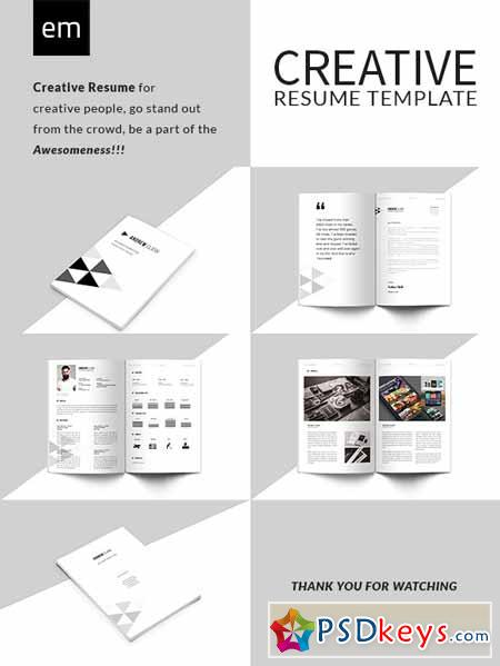creative resume cv portfolio 547049  u00bb free download