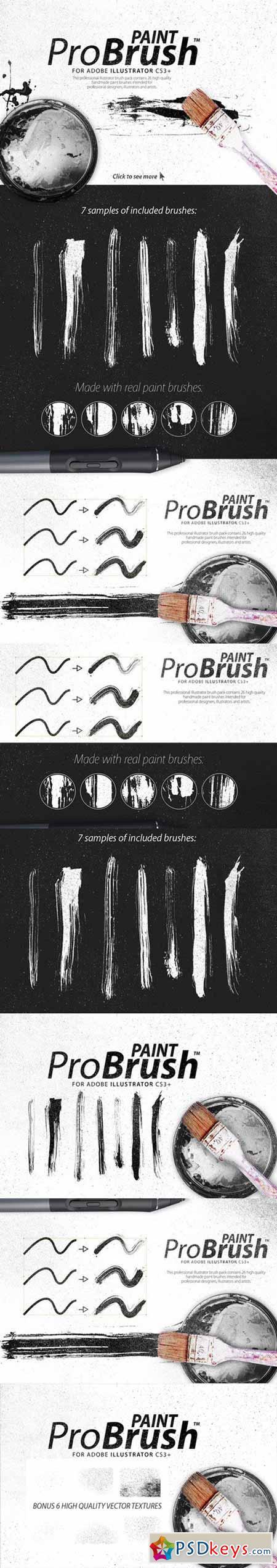 Paint ProBrush™ + Bonus Textures 558557