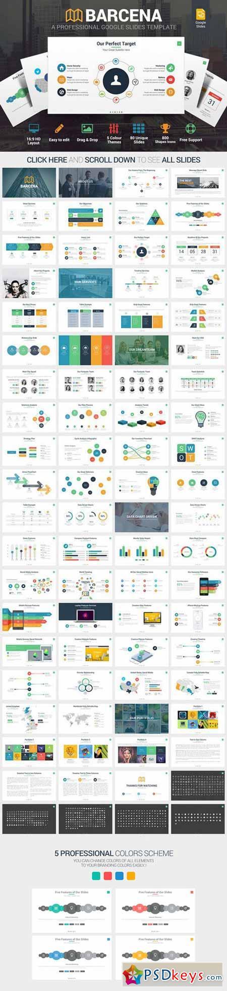 Barcena Google Slides Template 560759