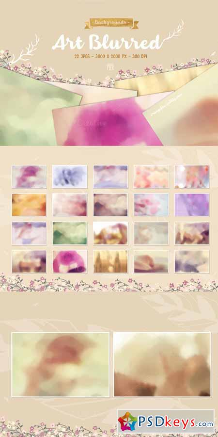 22 Art Blurred Backgrounds 552532