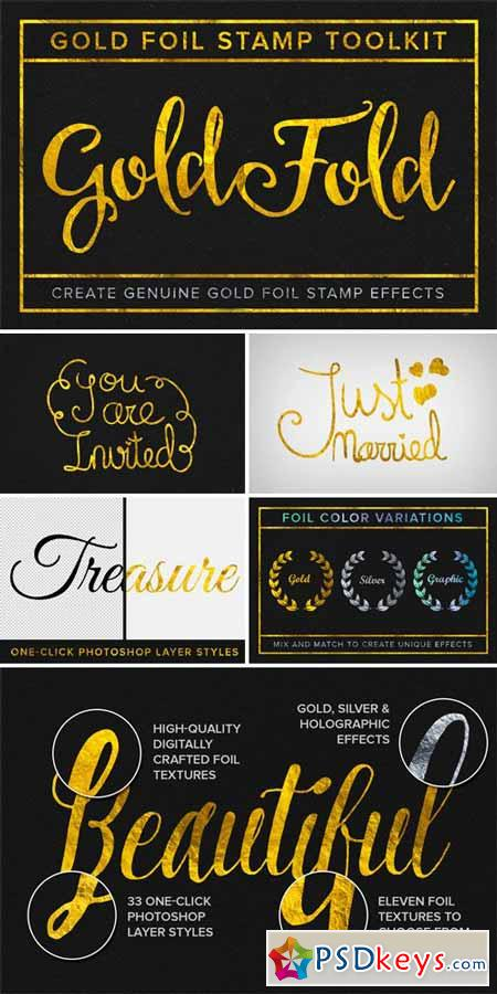 Gold Fold - Gold Foil Stamp Toolkit 220242 » Free Download