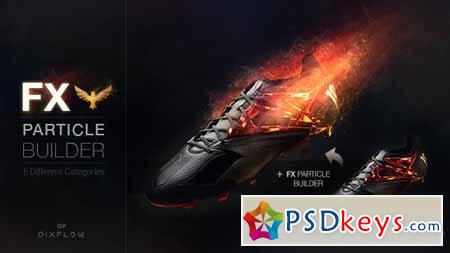 FX Particle Builder Fire Dust Smoke Particular Presets