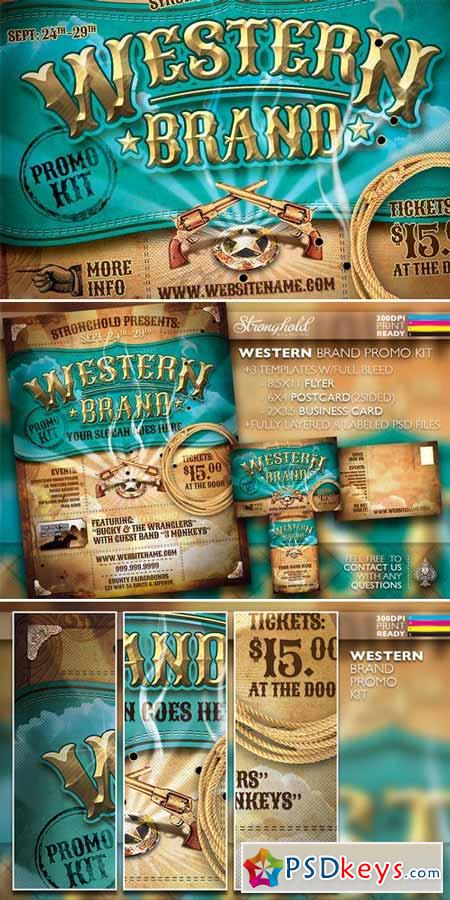 Vintage Western Brand Flyer Kit 36898 187 Free Download