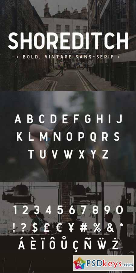 Shoreditch Sans Serif Font 564063
