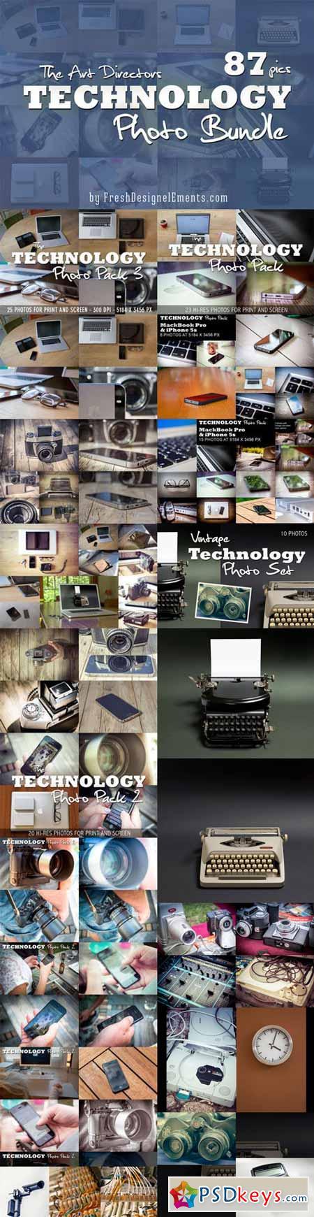 Technology Photo Bundle 87 HRs 307582