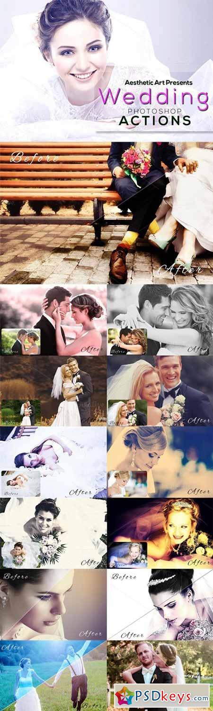 Aesthetic Wedding Photoshop Actions 312332