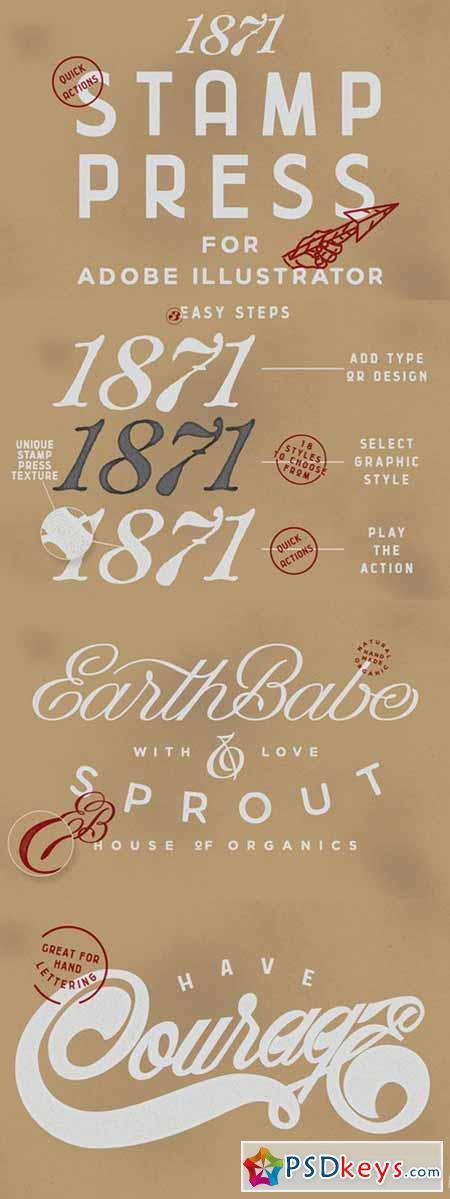1871 Stamp Press 537217