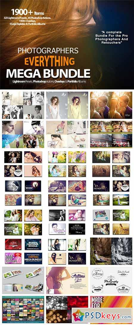 Photographers Everything Mega Bundle 513263