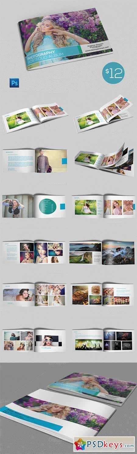 PSD Photography Portfolio Album 307954
