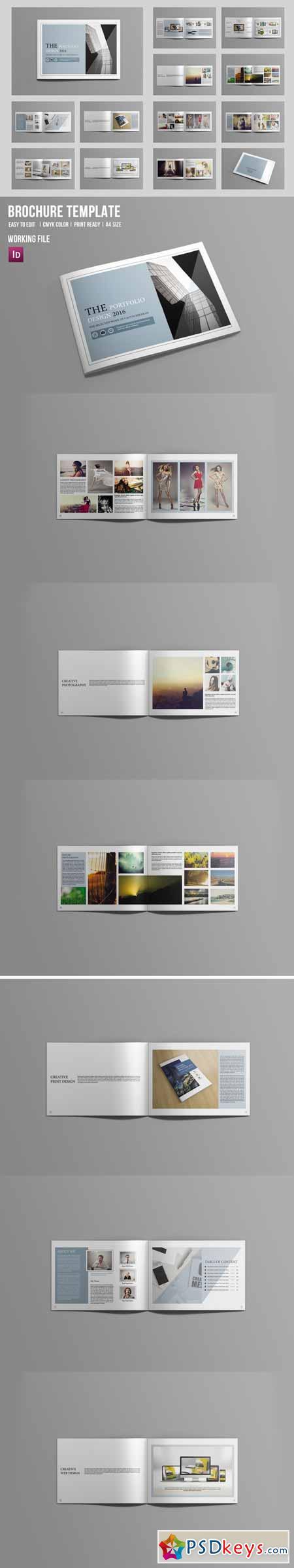 Indesign Portfolio Brochure-V419 551068